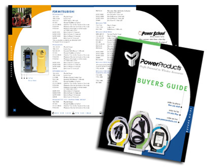 Power Products Cell Phone Accessories - Buyer's Guide Brochure