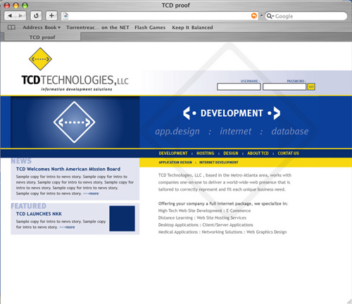 TCD TEchnologies - Software Development Company
